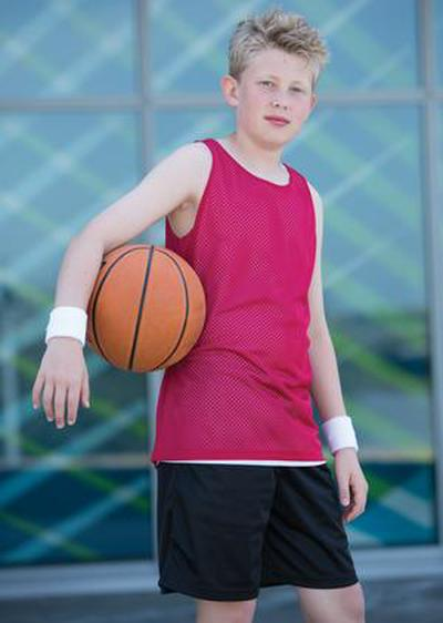 Mesh Youth Short | Customize with Logo, Player Name & Number