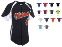 Softball Jersey Design Ideas baseball stitch design diy iron on bling transfer jersey shirt sports personalized fan wear spirit wear custom baseball softball team Fullbutton Custom Baseball Jerseyjpg Design By Administrator