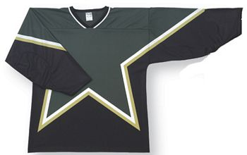 Custom Dallas blank hockey jersey | Design Your Own | No Min