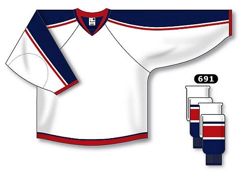 Custom Columbus hockey jersey