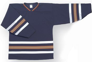 Customized  Oilers team hockey jersey edm | Design Your Own | No Min