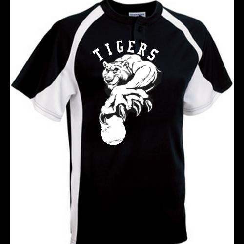 tigers baseballpng - Baseball Shirt Design Ideas