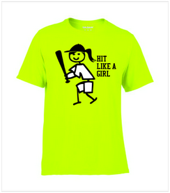 tn hit likea girl baseball shirtpng - Baseball Shirt Design Ideas