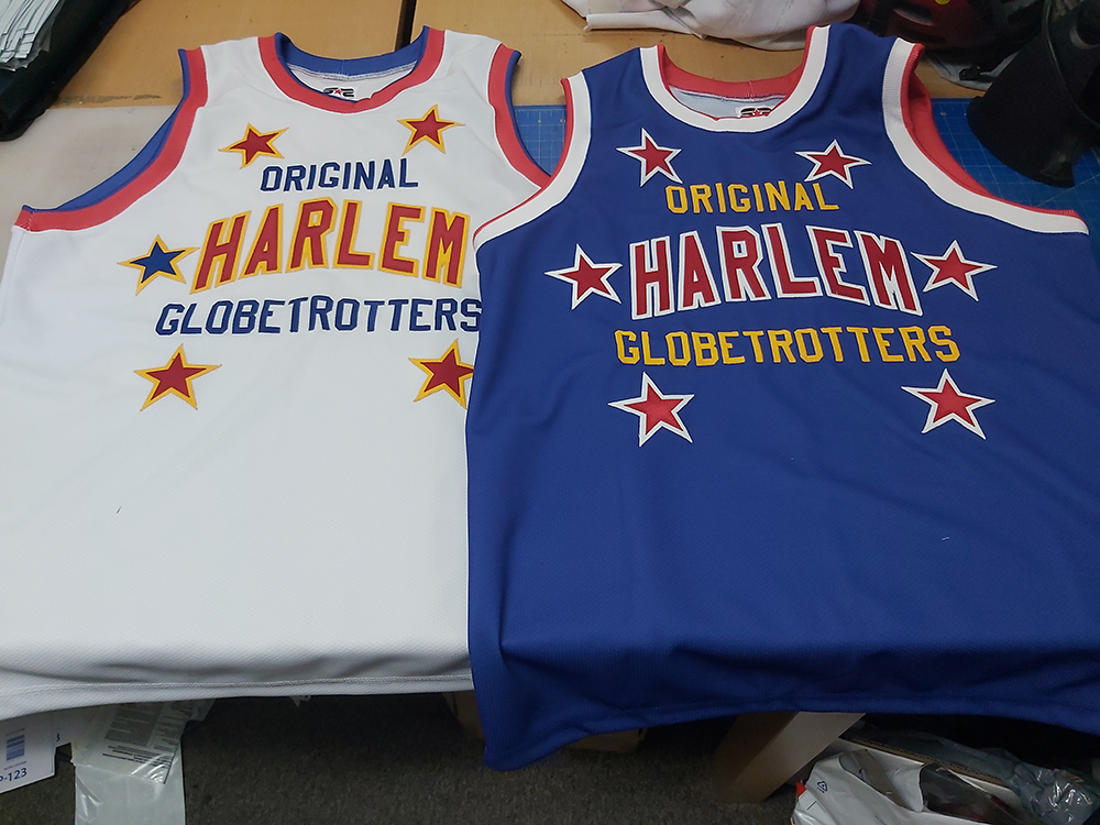 Harlem Globe Trotters Jerseys - Make your Own  Custom