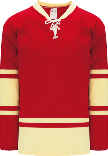 2004 ALL STARS RED custom hockey jerseys