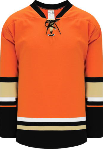 2015 ANAHEIM 3RD ORANGE custom hockey jerseys
