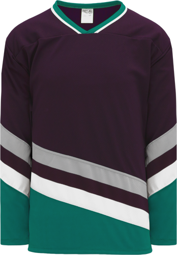 ANAHEIM EGGPLANT custom hockey jerseys