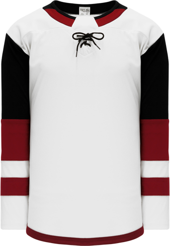 2017 PHOENIX WHITE custom hockey jerseys