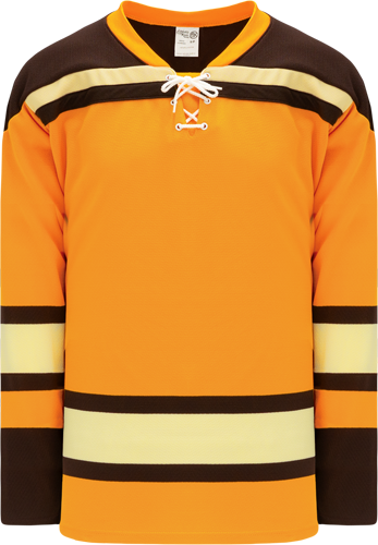 Custom BOSTON WINTER CLASSIC GOLD  hockey jerseys |  Design Yours - Fast Shipping