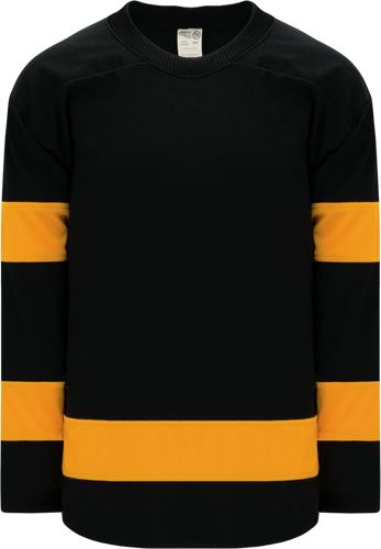Custom BOSTON WINTER CLASSIC BLACK  hockey jerseys |  Design Yours - Fast Shipping