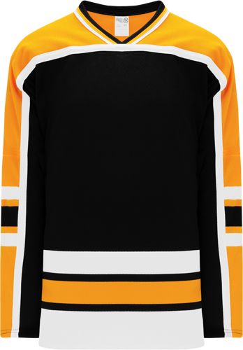 BOSTON BLACK custom hockey jerseys