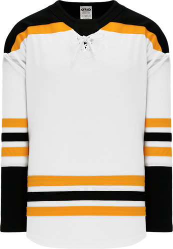2017 BOSTON WHITE custom hockey jerseys