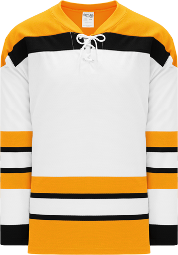 Customized VINTAGE BOSTON WHITE  hockey jerseys | No Minimium Order