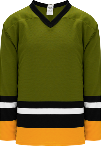 BRAMPTON OLIVE custom hockey jerseys
