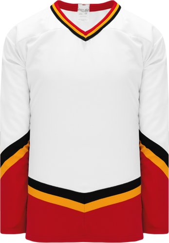 Custom Hockey Jerseys |NEW CALGARY 3RD WHITE  hockey jerseys