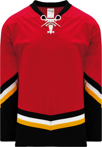 Custom Hockey Jerseys |NEW CALGARY 3RD RED  hockey jerseys