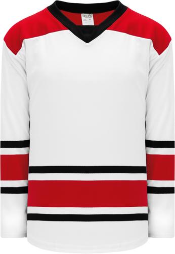 2013 CAROLINA WHITE custom hockey jerseys
