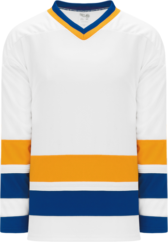 CHIEFS WHITE custom hockey jerseys