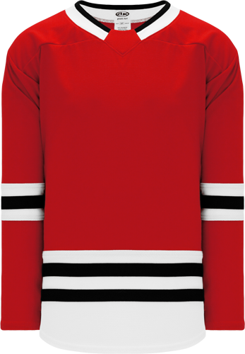 2017 CHICAGO RED custom hockey jerseys