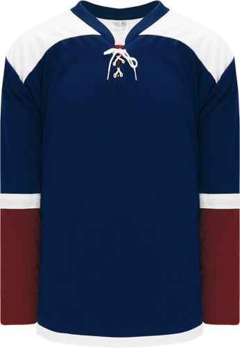 2015 COLORADO 3RD NAVY custom hockey jerseys