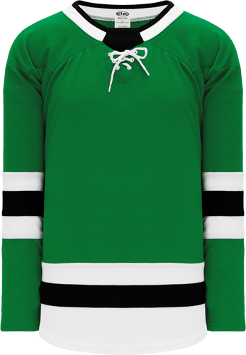 DALLAS Stars hockey jerseys  KELLY GREEN   | Customize with Logo, Player Name & Number