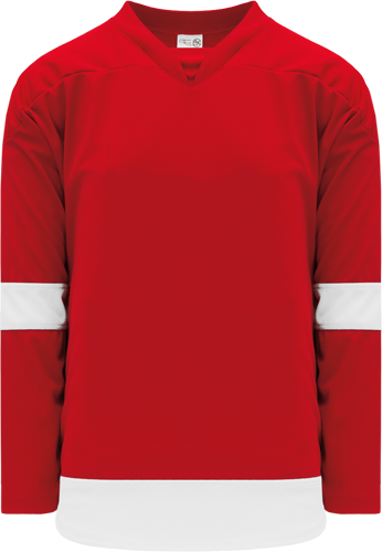 2007 DETROIT RED custom hockey jerseys