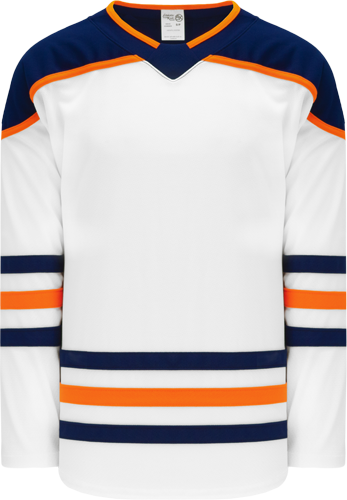 EDMONTON hockey jerseys WHITE  2017 | Customize with Logo, Player Name & Number
