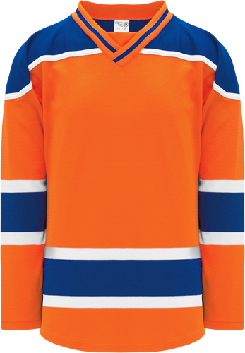 2015 EDMONTON 3RD ORANGE custom hockey jerseys