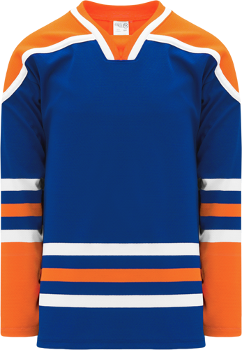 EDMONTON  hockey jerseys ROYAL  | Customize with Logo, Player Name & Number