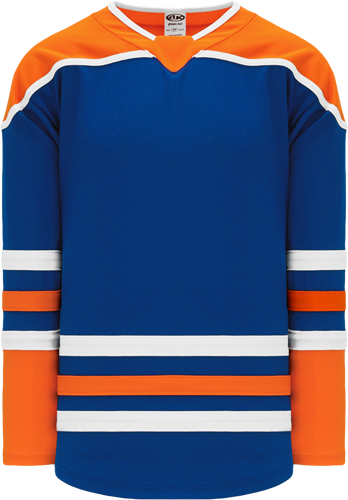 2018 EDMONTON 3RD ROYAL custom hockey jerseys