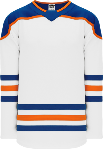2018 EDMONTON 3RD WHITE custom hockey jerseys