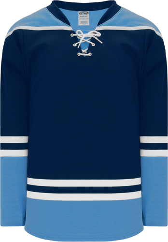 2010 FLORIDA 3RD NAVY custom hockey jerseys