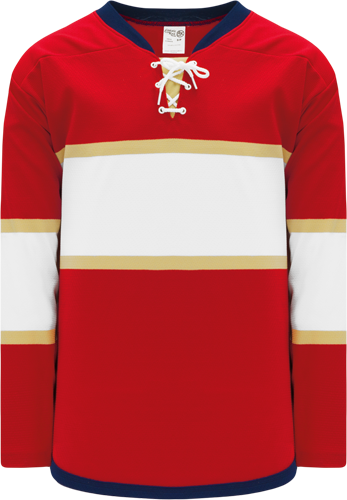 2016 FLORIDA RED custom hockey jerseys