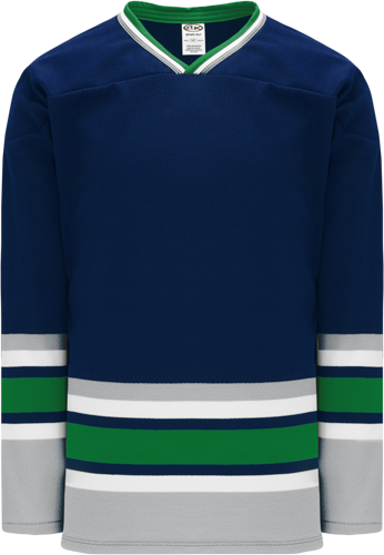 HARTFORD NAVY custom hockey jerseys