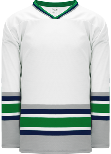 HARTFORD WHITE custom hockey jerseys