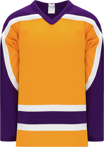Customized VINTAGE LA GOLD  hockey jerseys | No Minimium Order