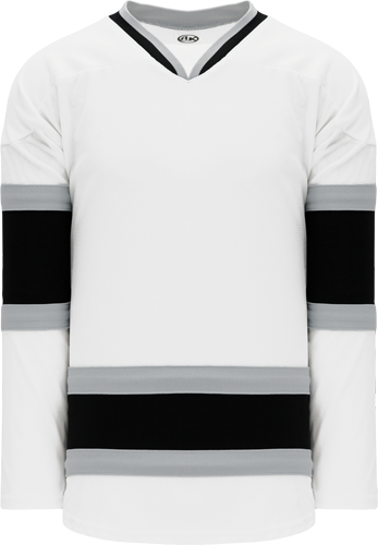 LA WHITE Kings hockey jerseys 1998 | Customize with Logo, Player Name & Number