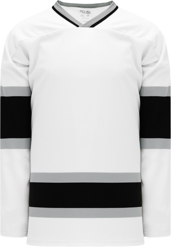 Custom Hockey Jerseys |OLD LA White/Black  hockey jerseys