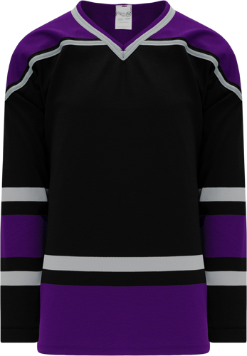 1998 LOS ANGELES BLACK custom hockey jerseys