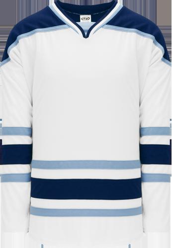 Univestiy of MAINE   hockey jerseys WHITE | Customize with Logo, Player Name & Number