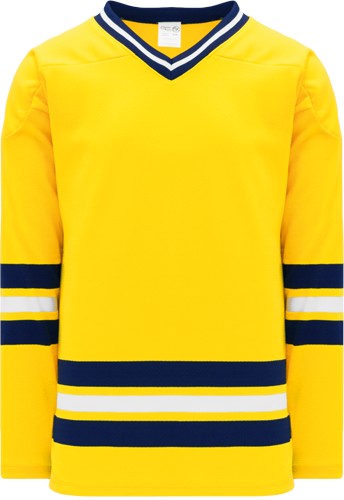 University of Michigan hockey jerseys MAIZE   2011 | Customize with Logo, Player Name & Number
