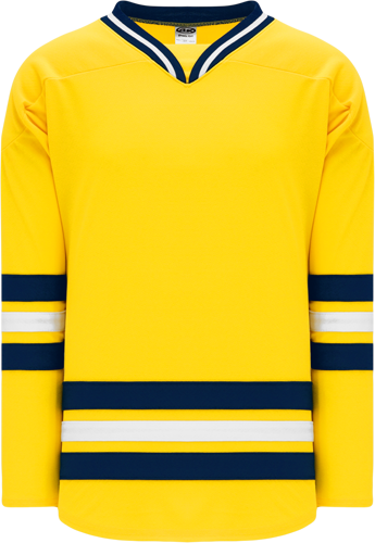 Custom Hockey Jerseys |NEW 2011 MICHIGAN MAIZE  hockey jerseys