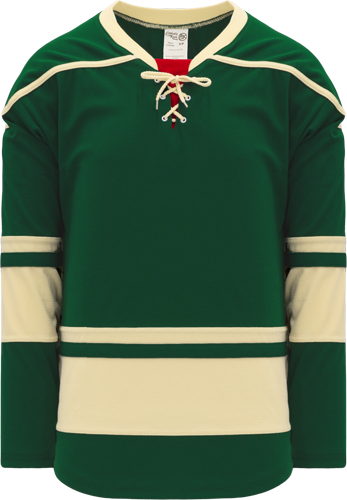 2009 MINNESOTA 3RD DARK GREEN custom hockey jerseys
