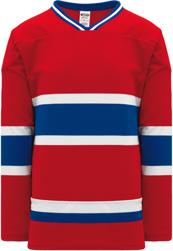 MONTREAL Canadians  hockey jerseys RED  | Customize with Logo, Player Name & Number