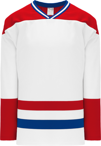 MONTREAL Canadians  hockey jerseys WHITE  | Customize with Logo, Player Name & Number