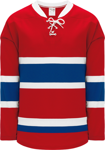2015 MONTREAL RED custom hockey jerseys