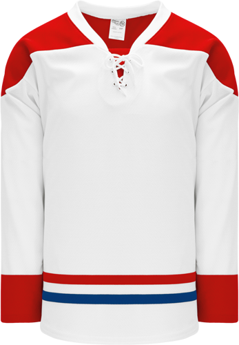 2015 MONTREAL WHITE custom hockey jerseys