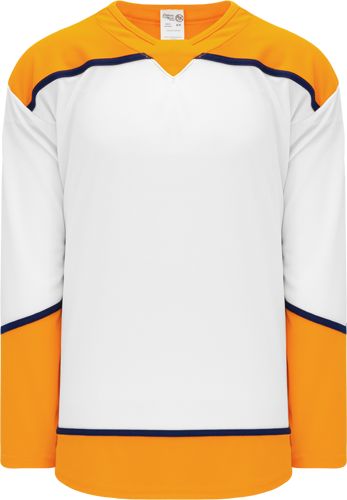 2017 NASHVILLE WHITE custom hockey jerseys