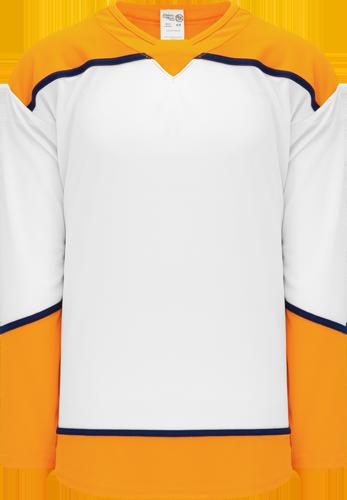 NASHVILLE Predators hockey jerseys WHITE   2017 | Customize with Logo, Player Name & Number