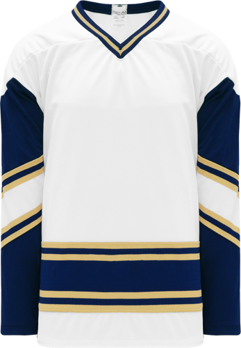 Custom Hockey Jerseys |NOTRE DAME WHITE  hockey jerseys